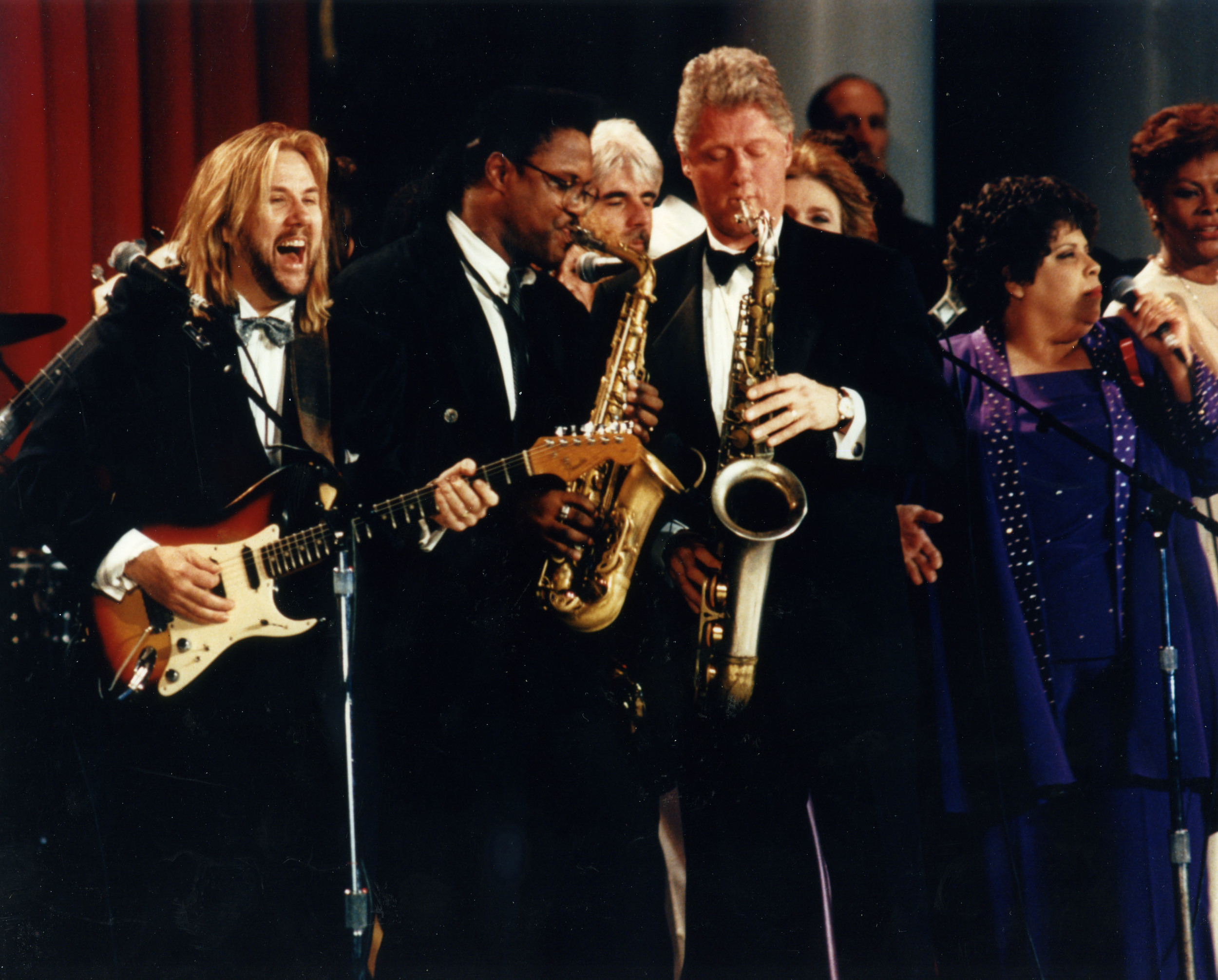 David music directing President Clinton's 1993 Arkansas Ball