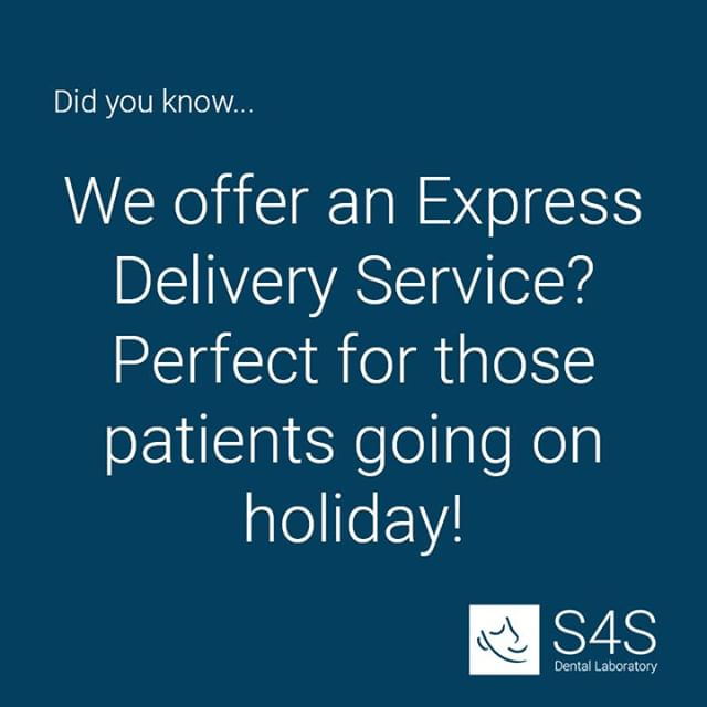 Did you know... Click the link in our bio for more information on our delivery times and optional express delivery services 😁