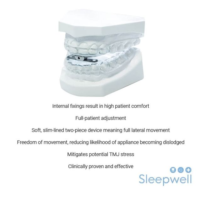 Are your patients complaining about snoring? We offer a number of mandibular advancement splints, bespoke to your patients individual needs. Our most popular being the Sleepwell. Click the link in our bio for further information on our full product range. 💤 😴