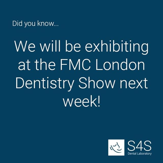 Make sure you come along and visit us on stand M3 at next weekends @FMCPro #LondonDentistryShow! We will have exclusive offers and our product range for you to view!