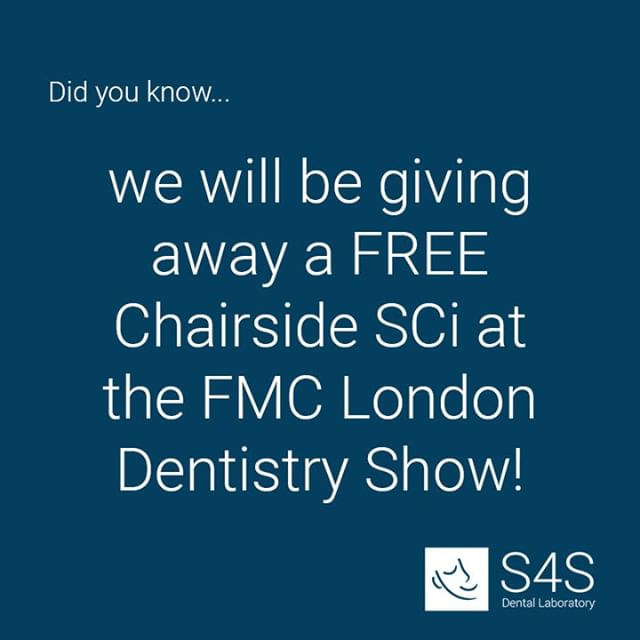 Final preparations are underway for @fmcpro #londondentistryshow this weekend!  Make sure you visit us on Stand M3 at 11:45 on Friday and 12:00 on Saturday for a live SCi fitting demonstration with Barry Oulton, where you can also take away a FREE SCi to treat a patient at your practice!