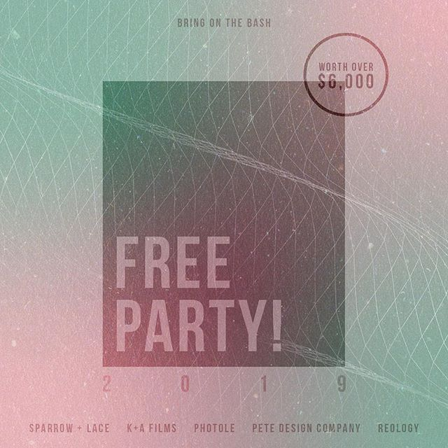 Submissions are rolling in for our free party giveaway! If you haven't signed up yet do so tonight and have a chance to win a party worth over $6,000! Link in the bio for more info!