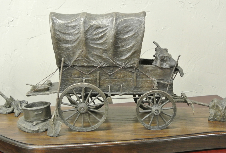 Chuck Wagon  This bronze has a lot of different parts, be sure to click through and see everything!