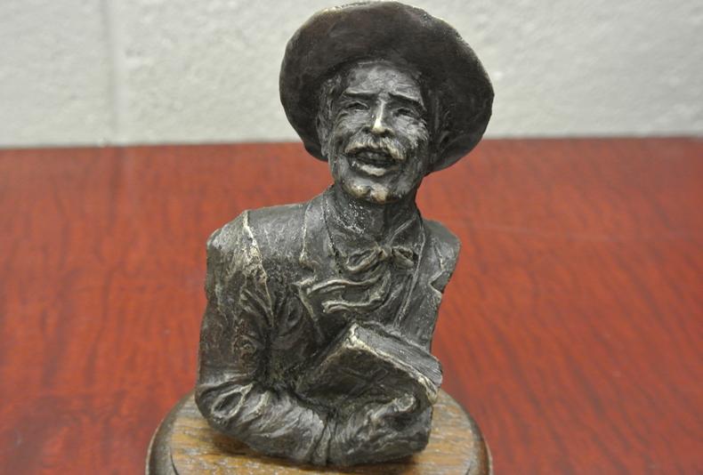 Country Preacher  Small preacher bust.