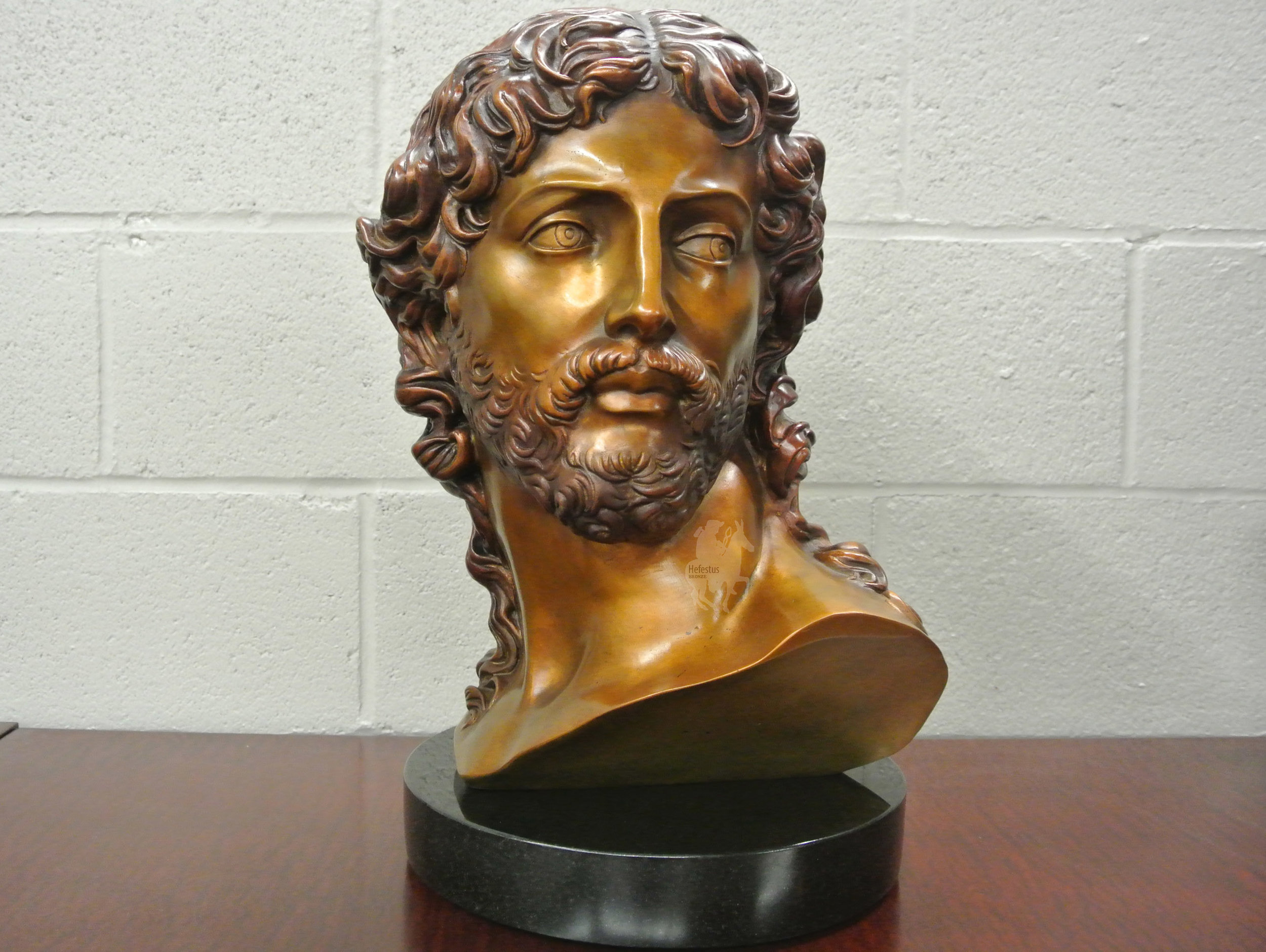 Michelangelo's Resurrected Christ Bust in Bronze - Projects