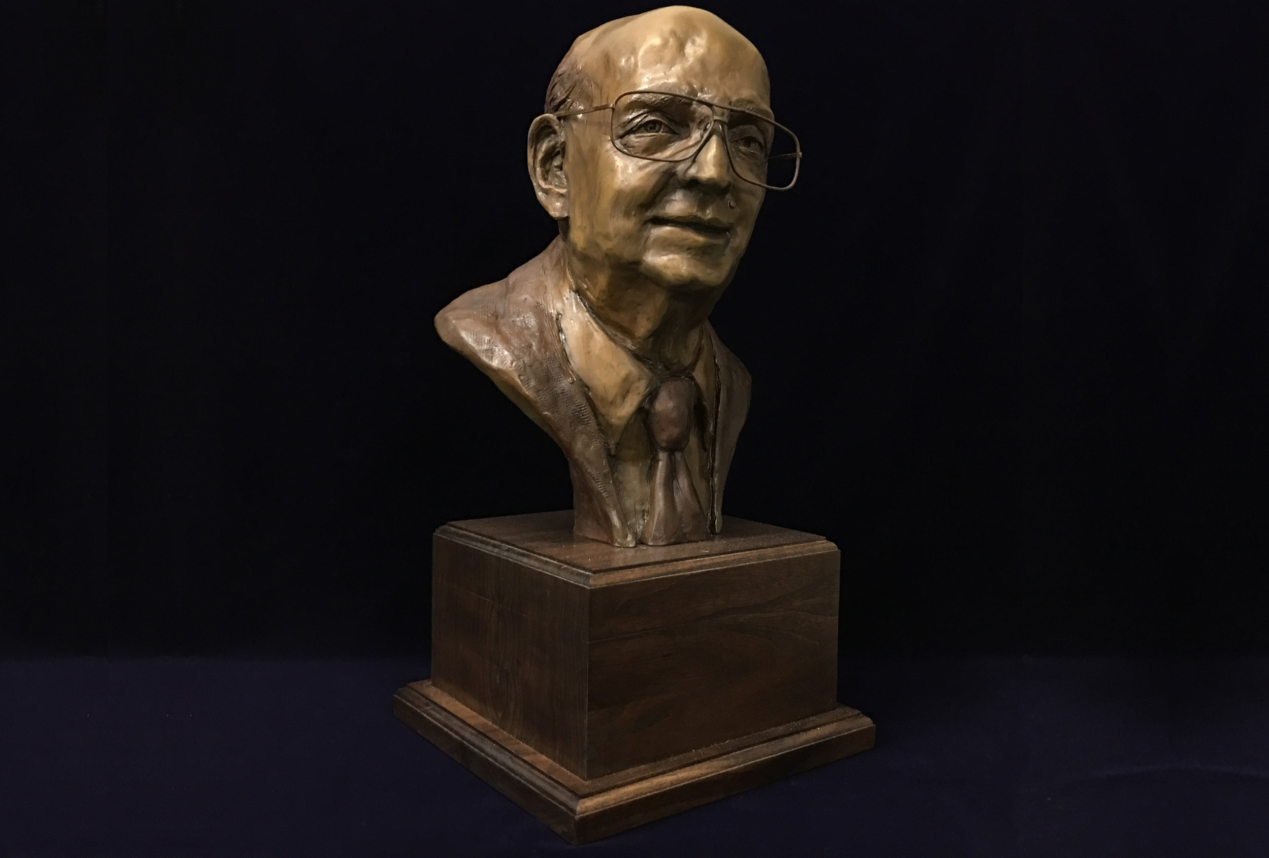 Riter Hulsey  A commisioned portrait bust.