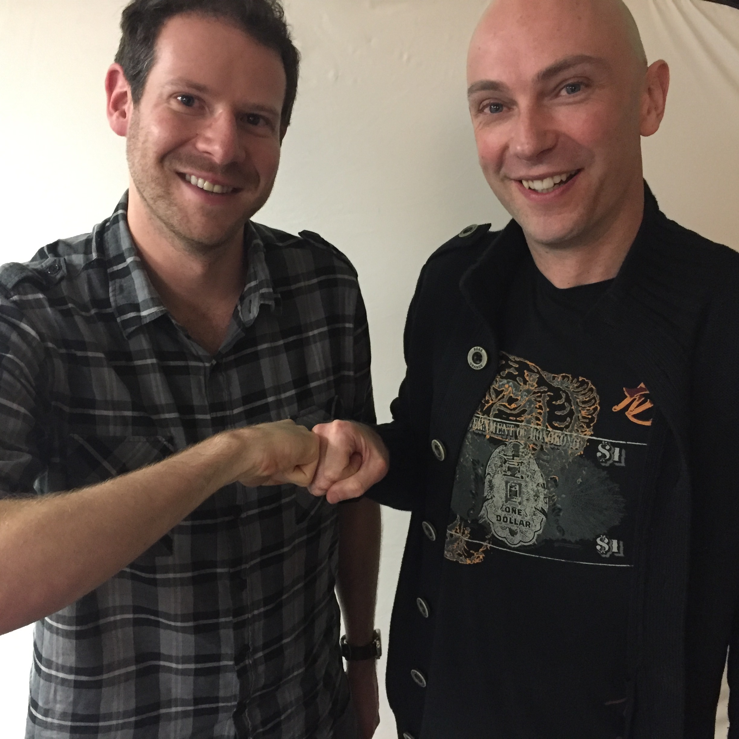 Olly Mann and his homie Shaun Attwood, who survived America's deadliest prison