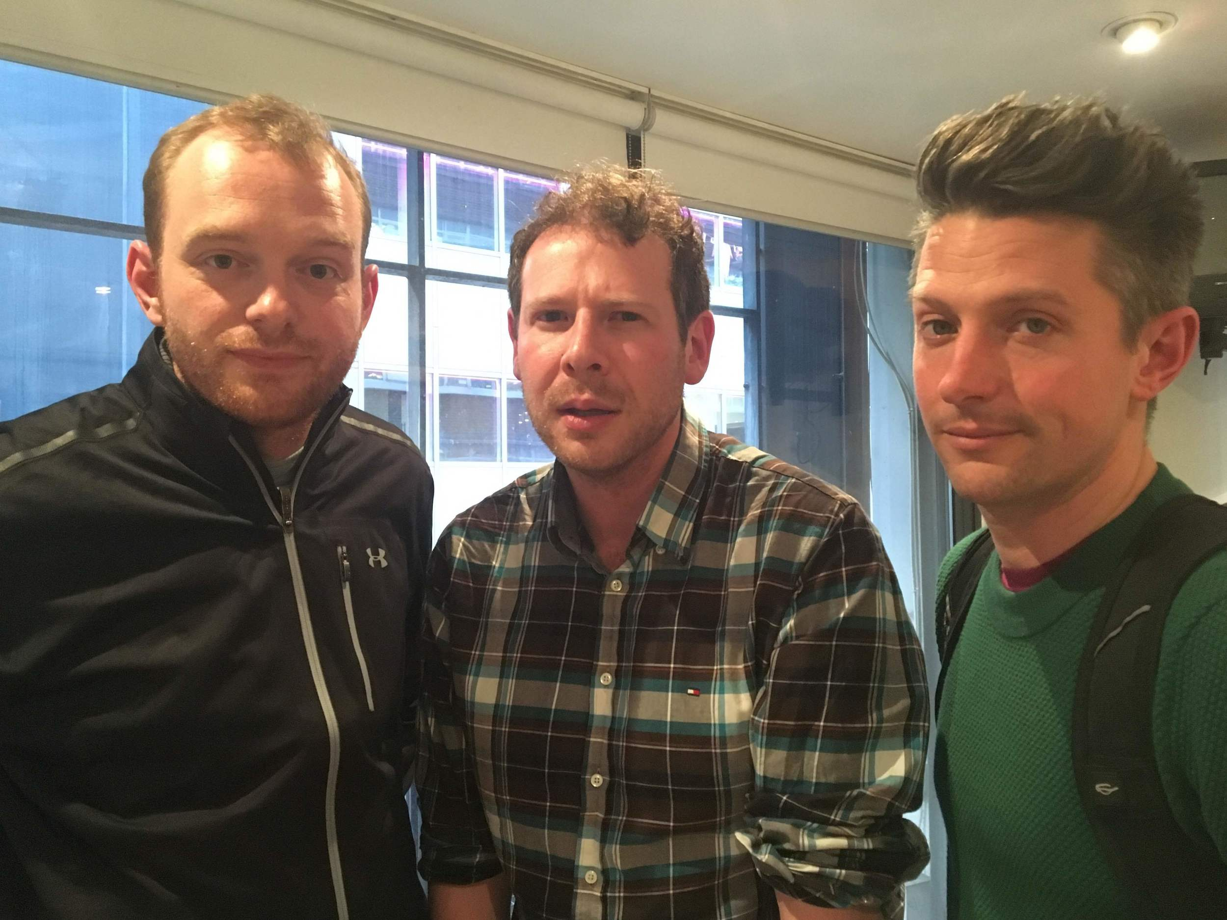 Price, Mann, Goldsmith: this is what three tired men look like