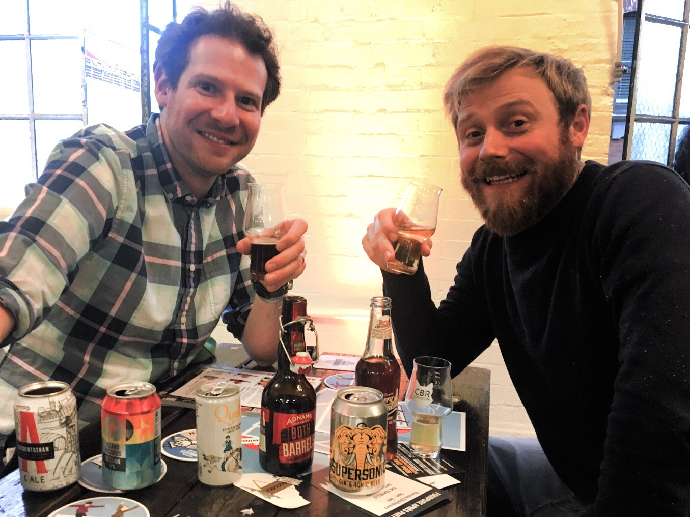 Will Podcast For Beer: Olly and Ollie get Zeitgeisting at London's Craft Beer Rising festival