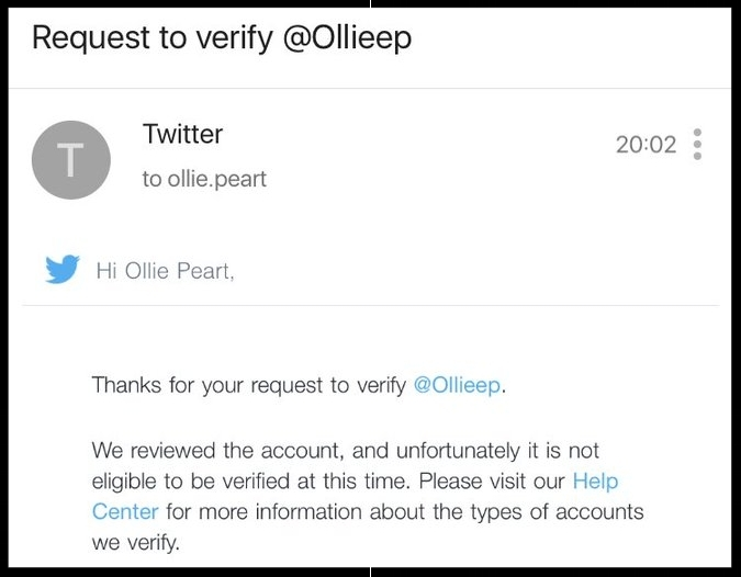Ollie's quest hits another stumbling block...