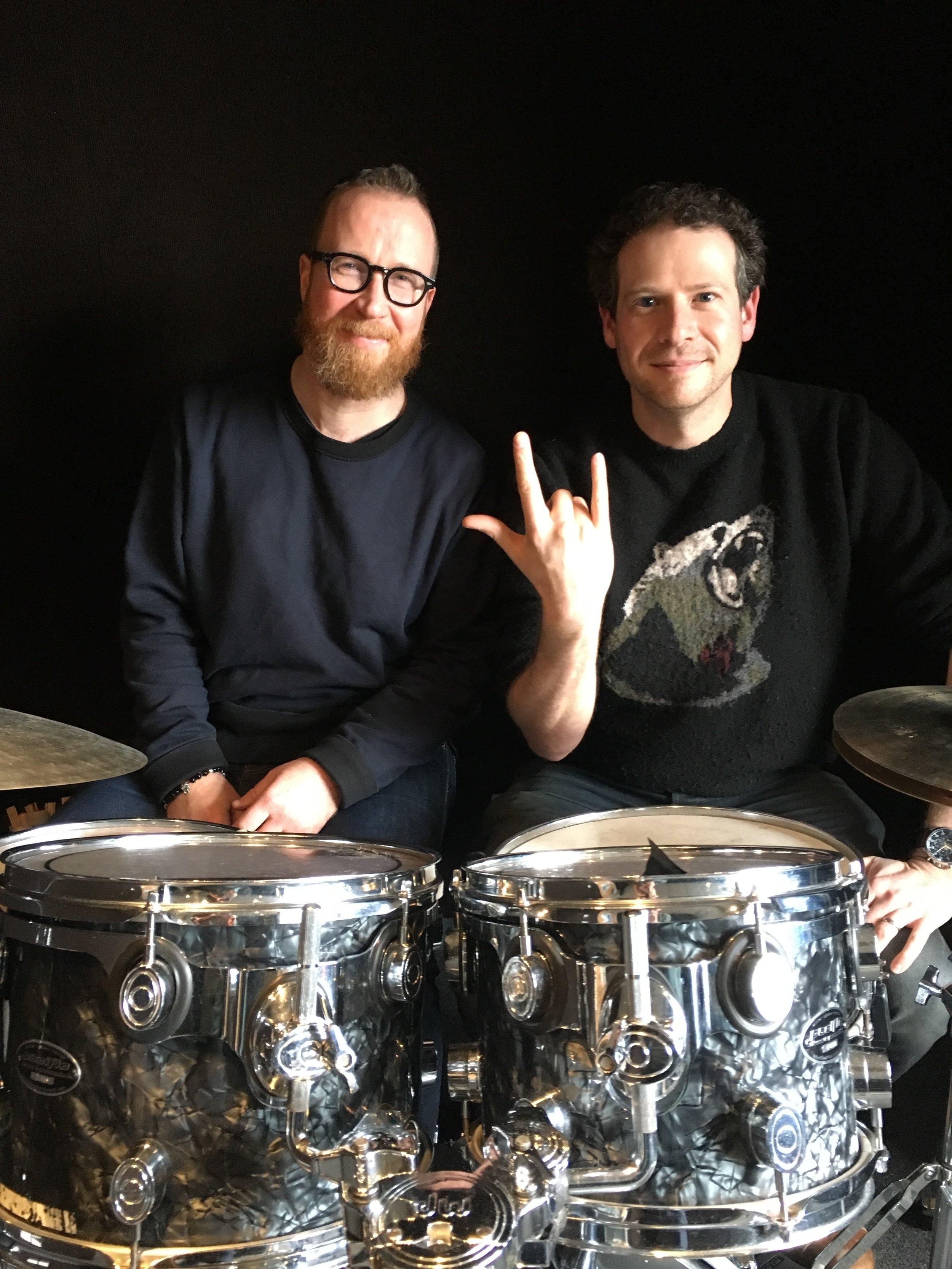 Tom Meadows and Olly Mann