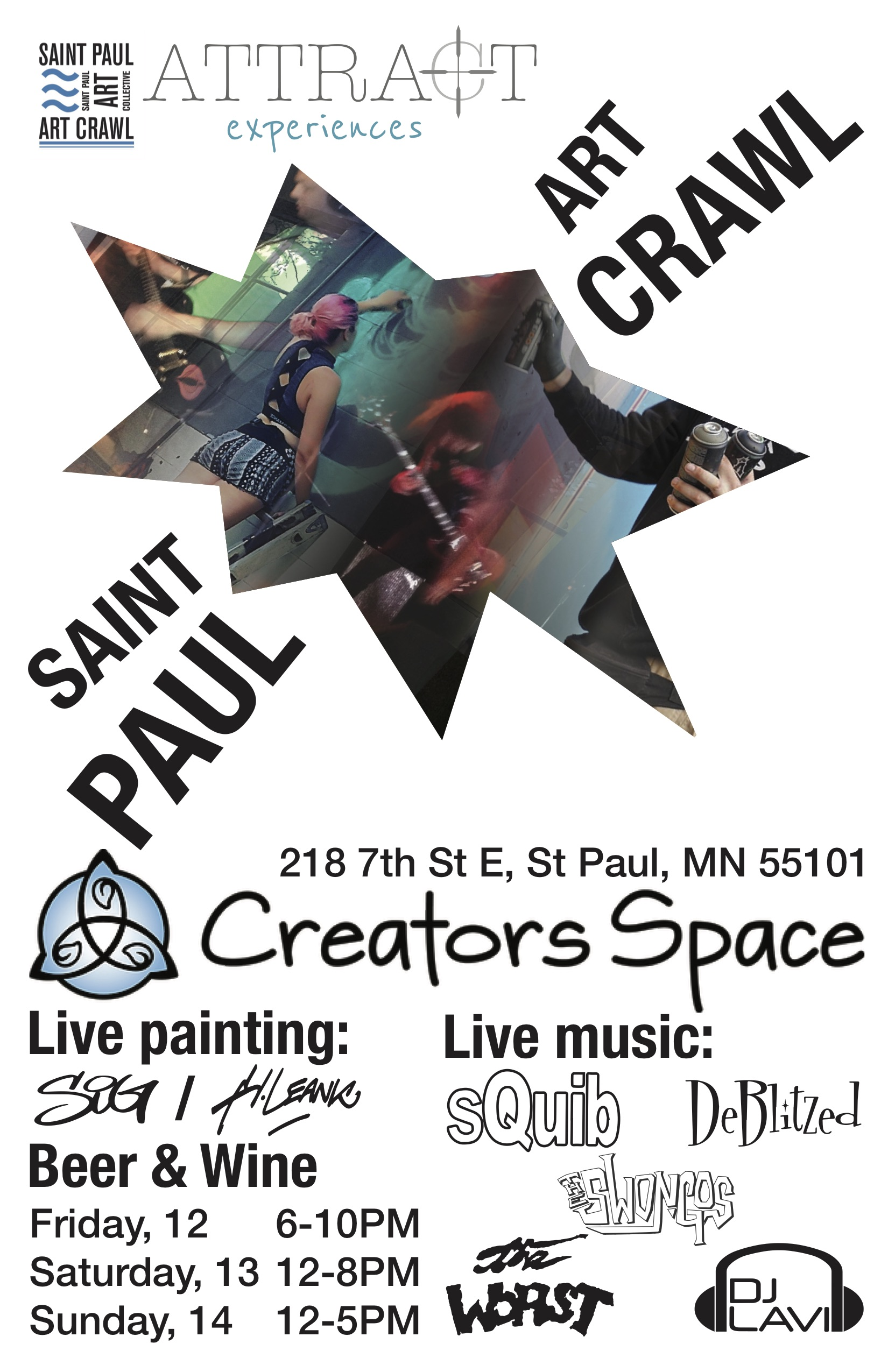 Saint Paul Art Crawl @ Creators Space