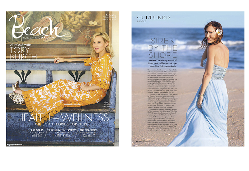Modern Luxury Beach Magazine Summer 2016