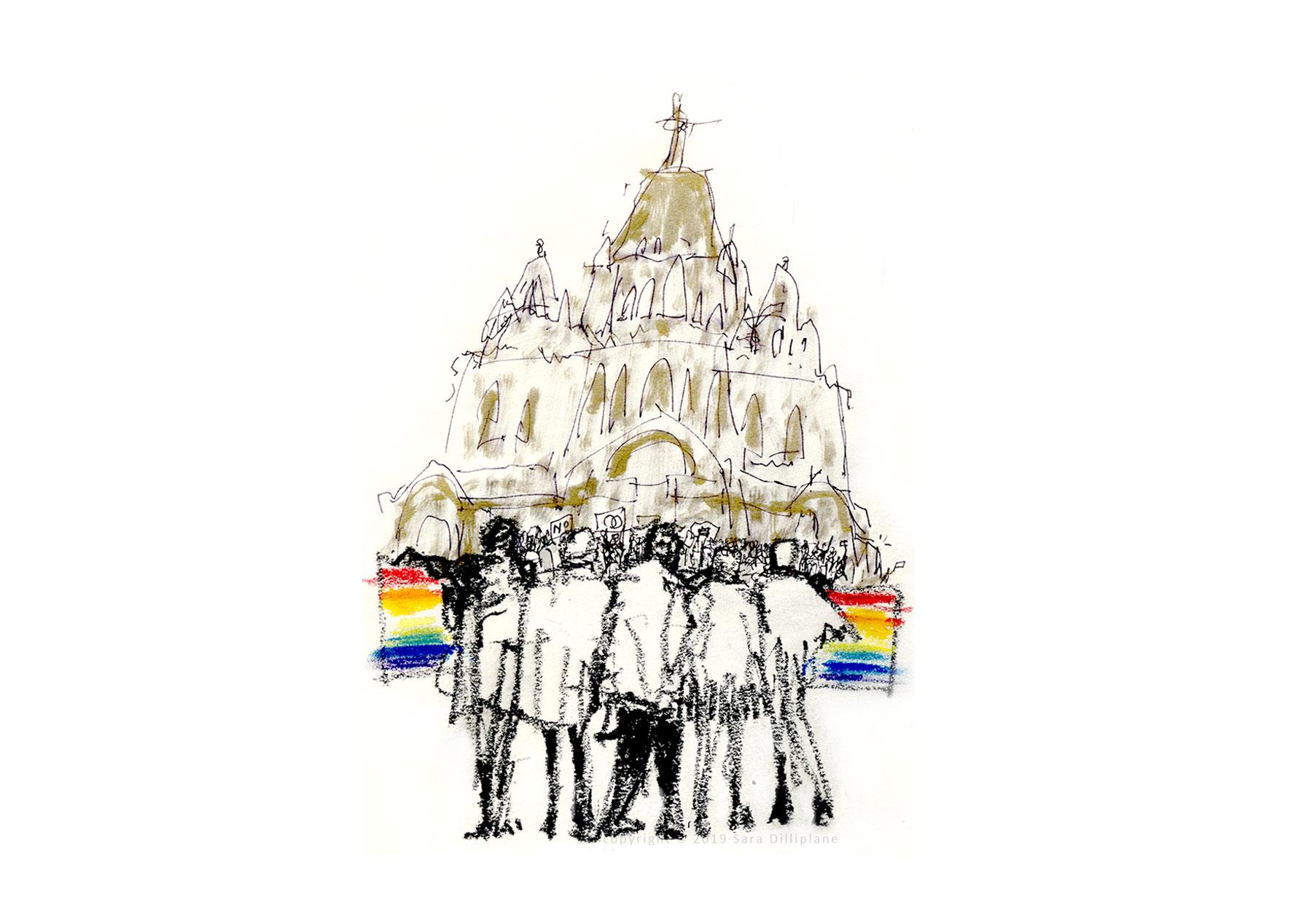 LGBTQ-Muslim Solidarity rally, 1/17