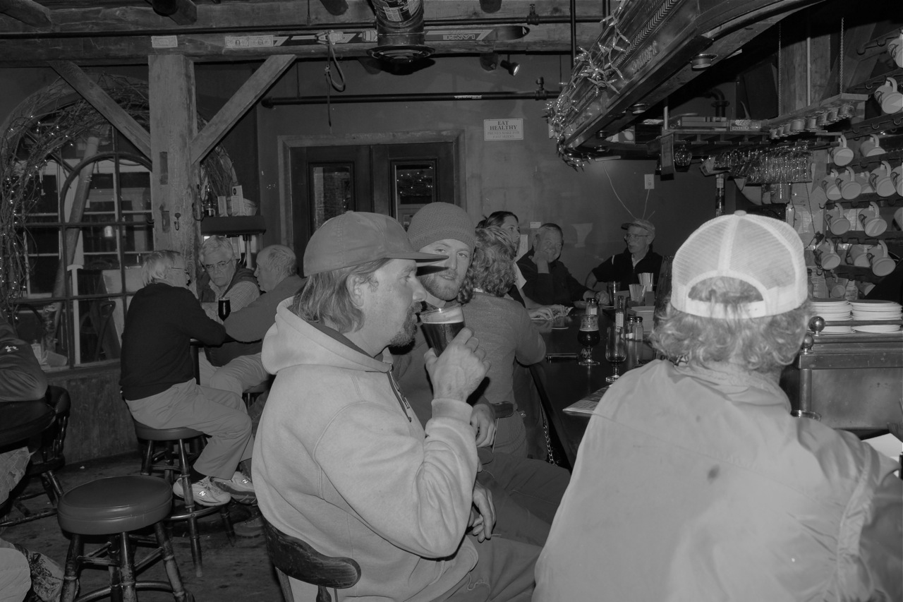 Tribute to The Shed. Polishing it off – the history of a revered Vermont establishment up to the final hours   .