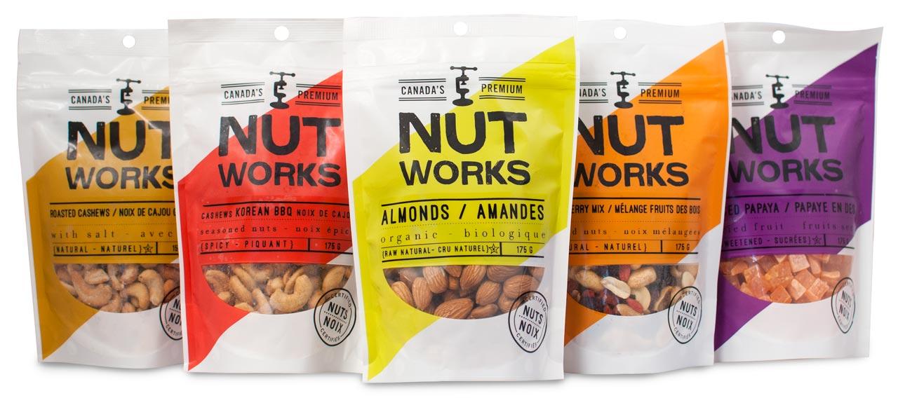 Nutworks Packaging Design