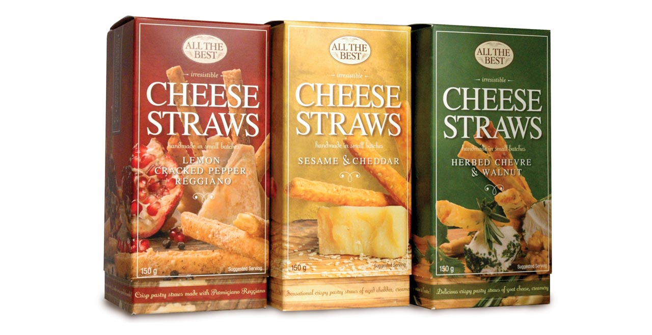 all the best cheese straws
