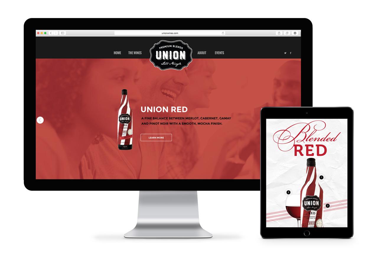 union-wines-website
