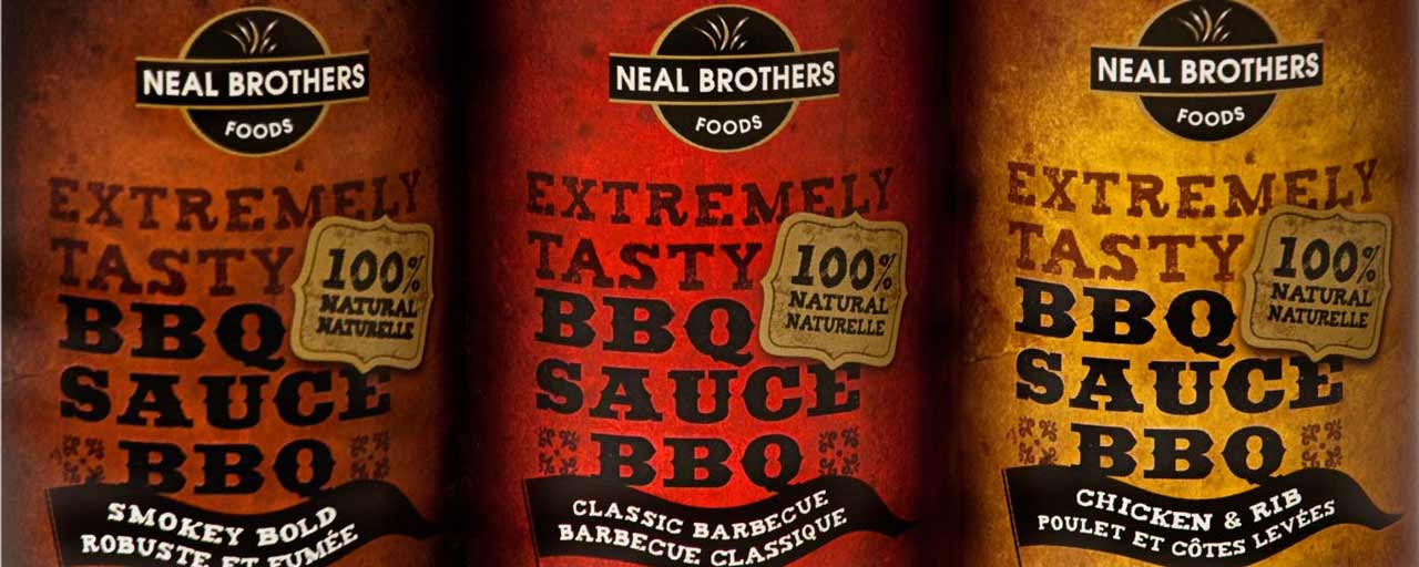 Neal Brothers Extremely Tasty Packaging Design