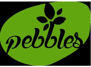 Pebbles Logo Design