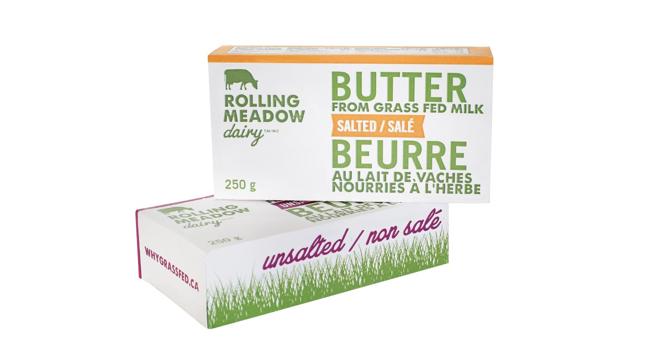 Rolling Meadow Dairy Packaging Design