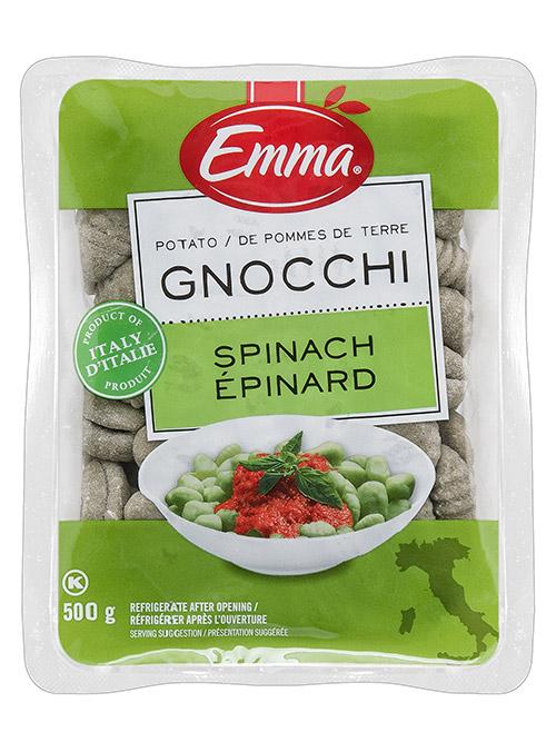 Emma Spinach Gnocchi