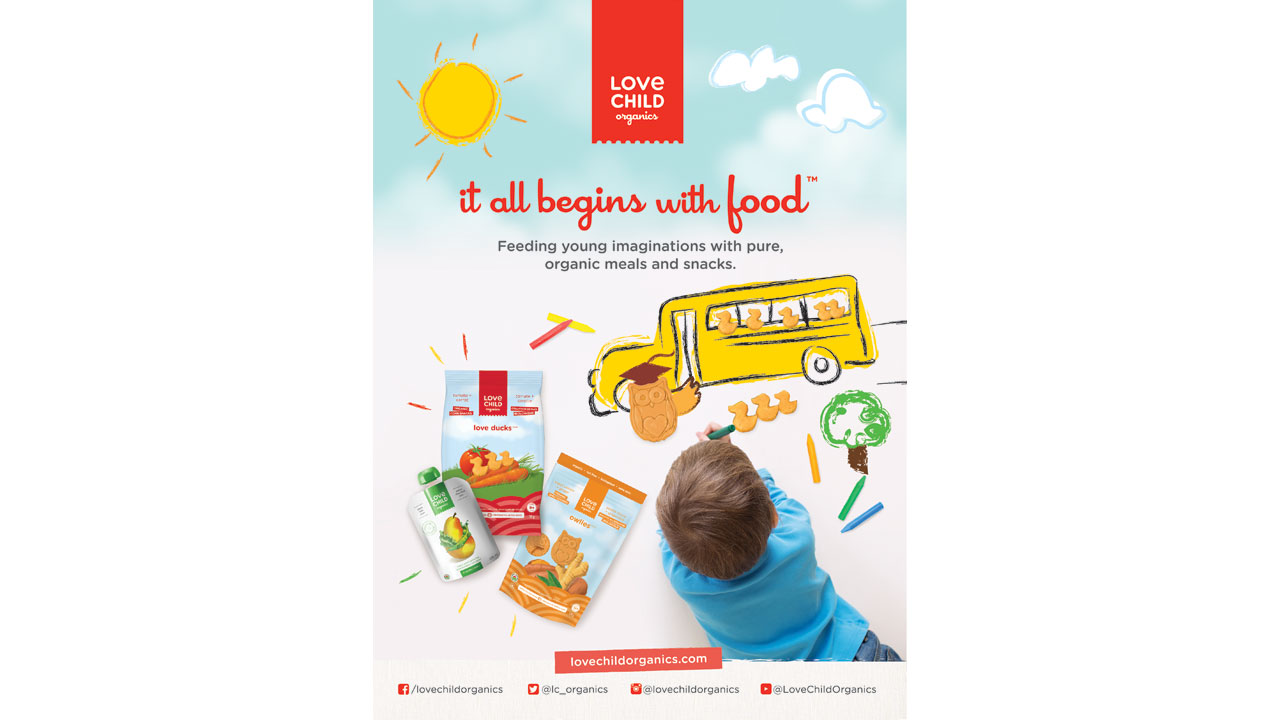 Love Child Organics Advertising