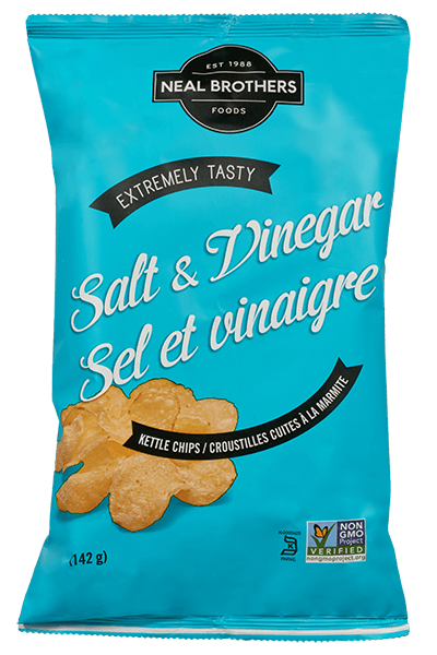 Neal Brothers Kettle Chips Packaging Design