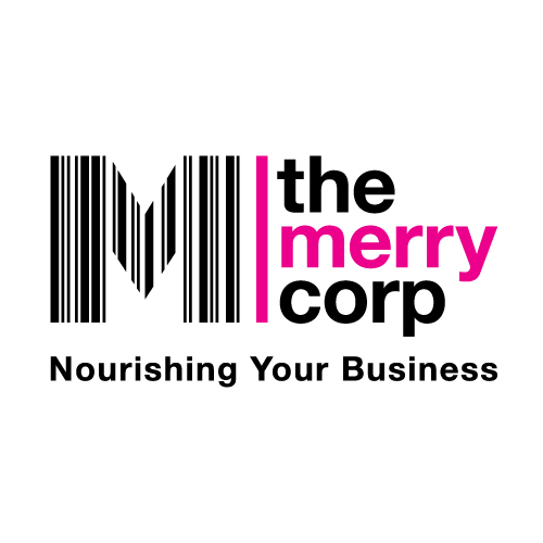 The Merry Corp logo design