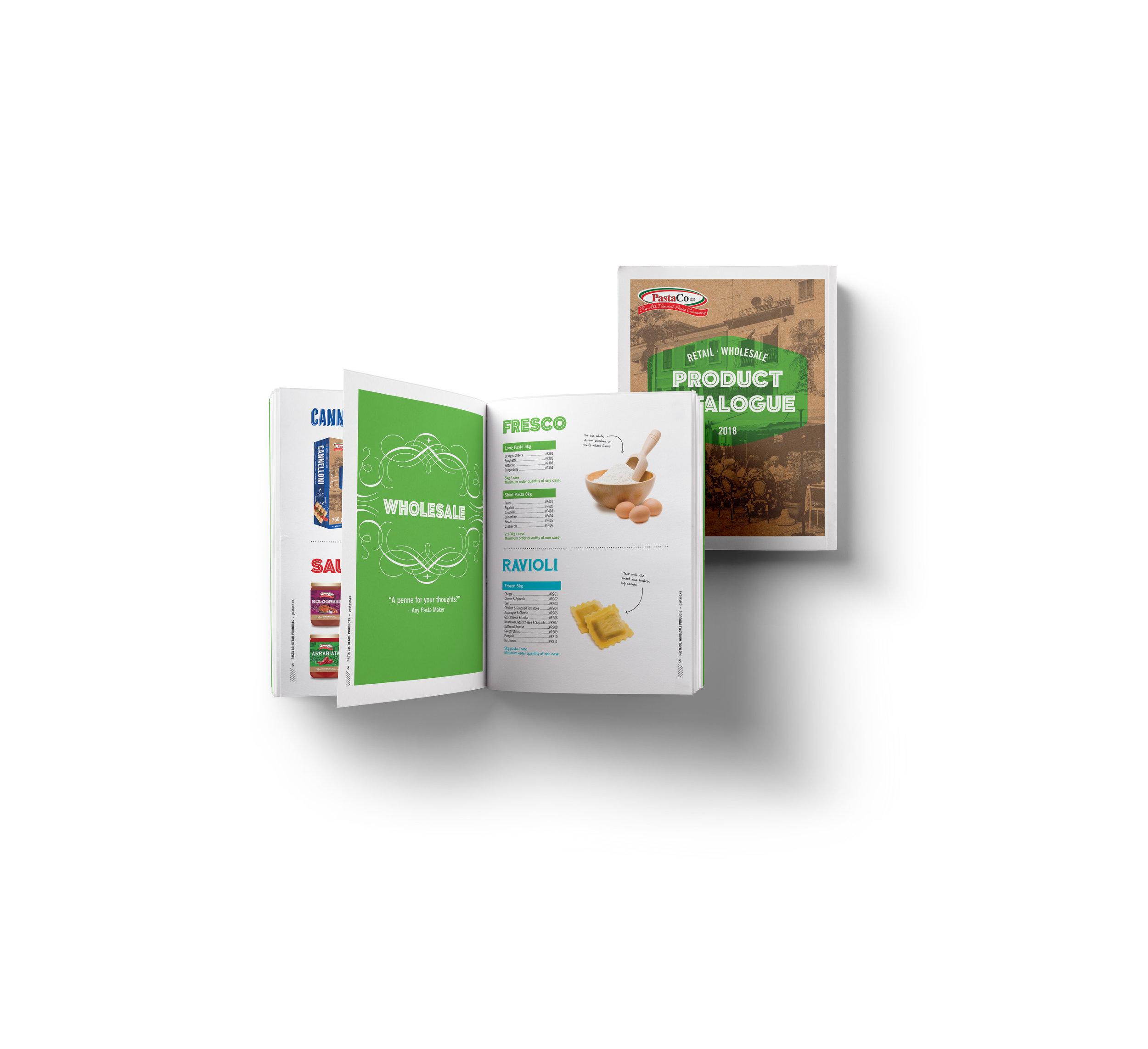 Pasta Co. Catalogue Design