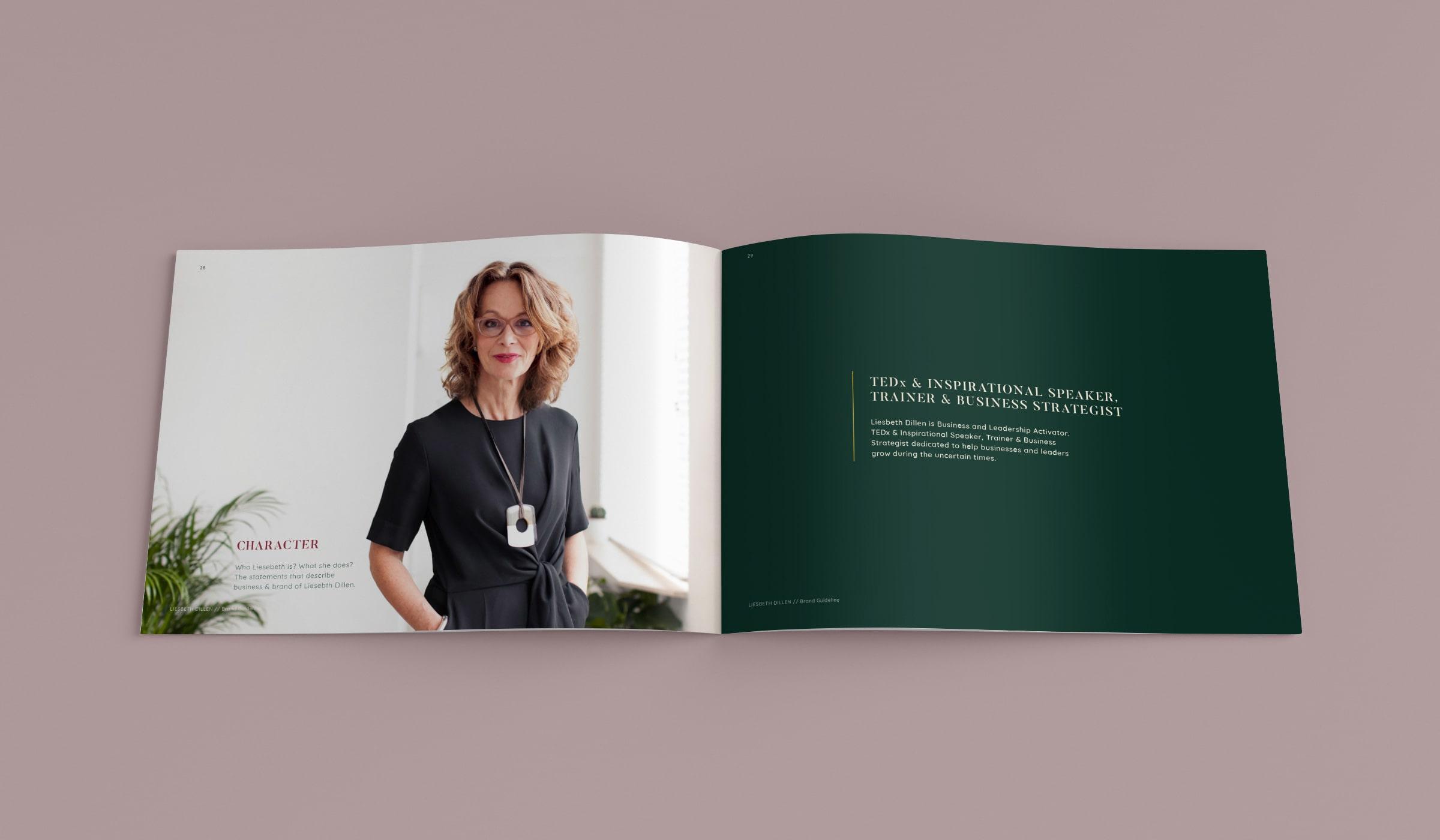 WEB, Brand, Content | VJS Agency | Liesbeth Dillen Brandbook