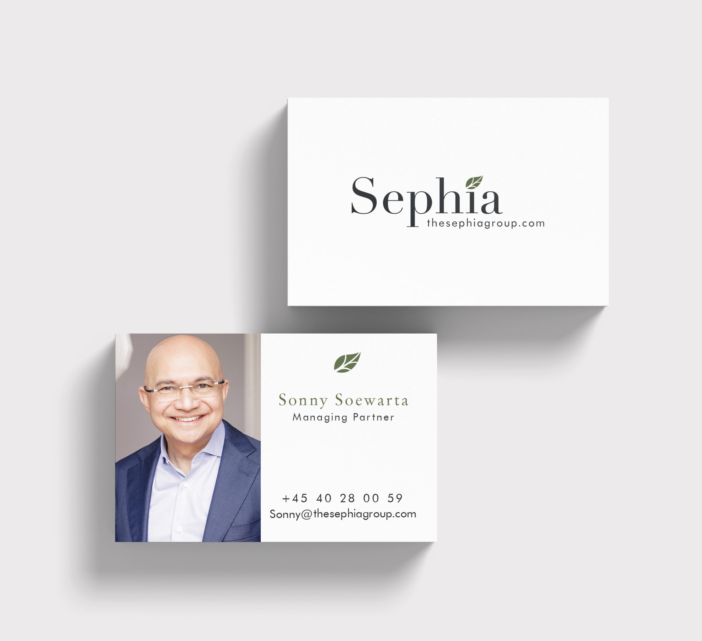 The Sephia Group | Business Cards | VJS Agency
