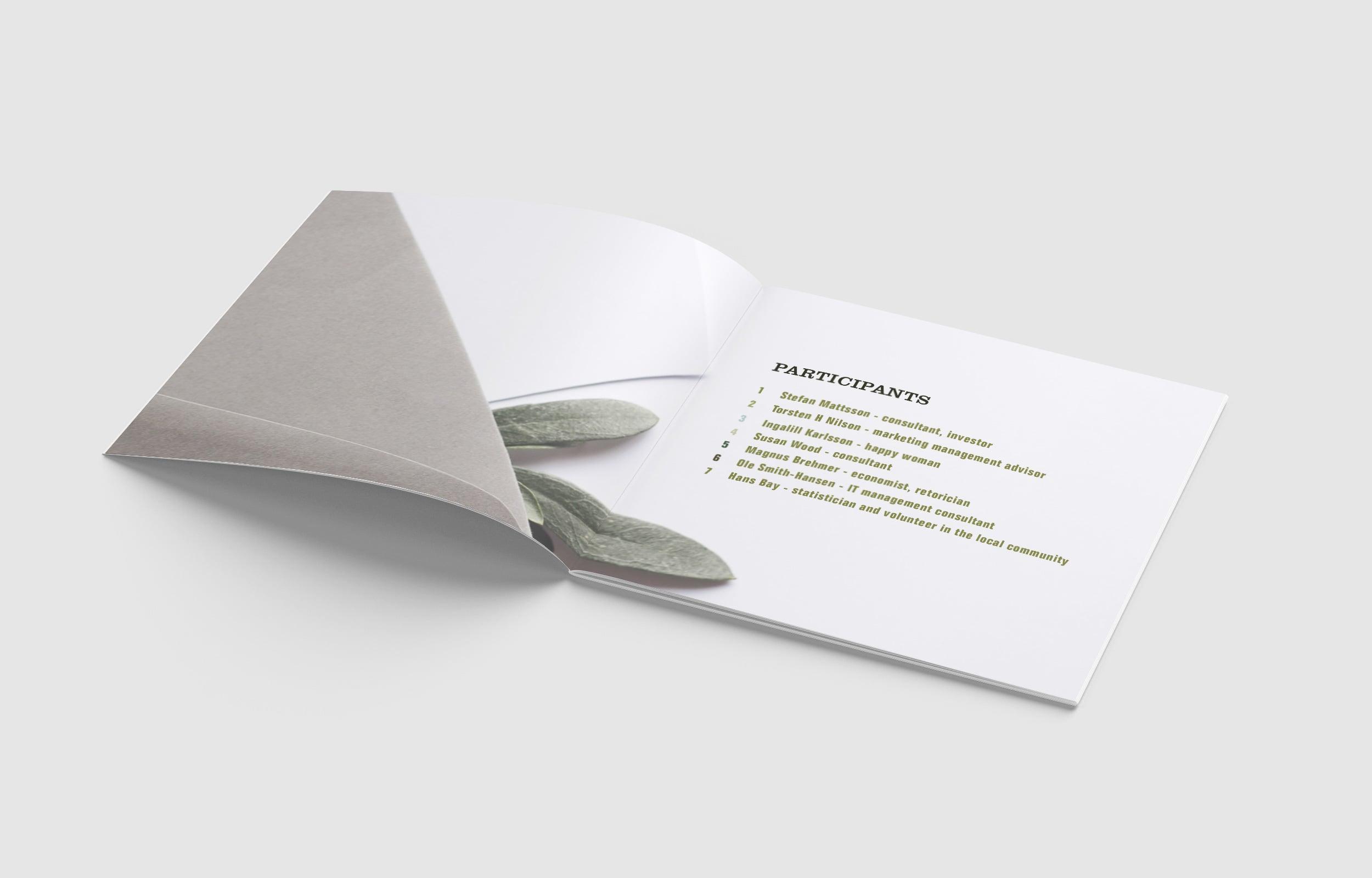 The Sephia Group | Brochure Design | VJS Agency