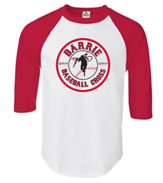 Order a Baseball Cross t-shirt online when you pre-register! -