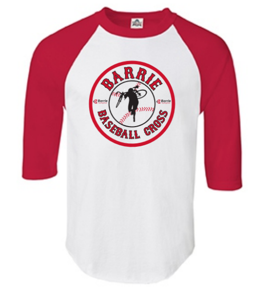 Buy a Baseball Cross shirt at the race! $20 each, cash only. -