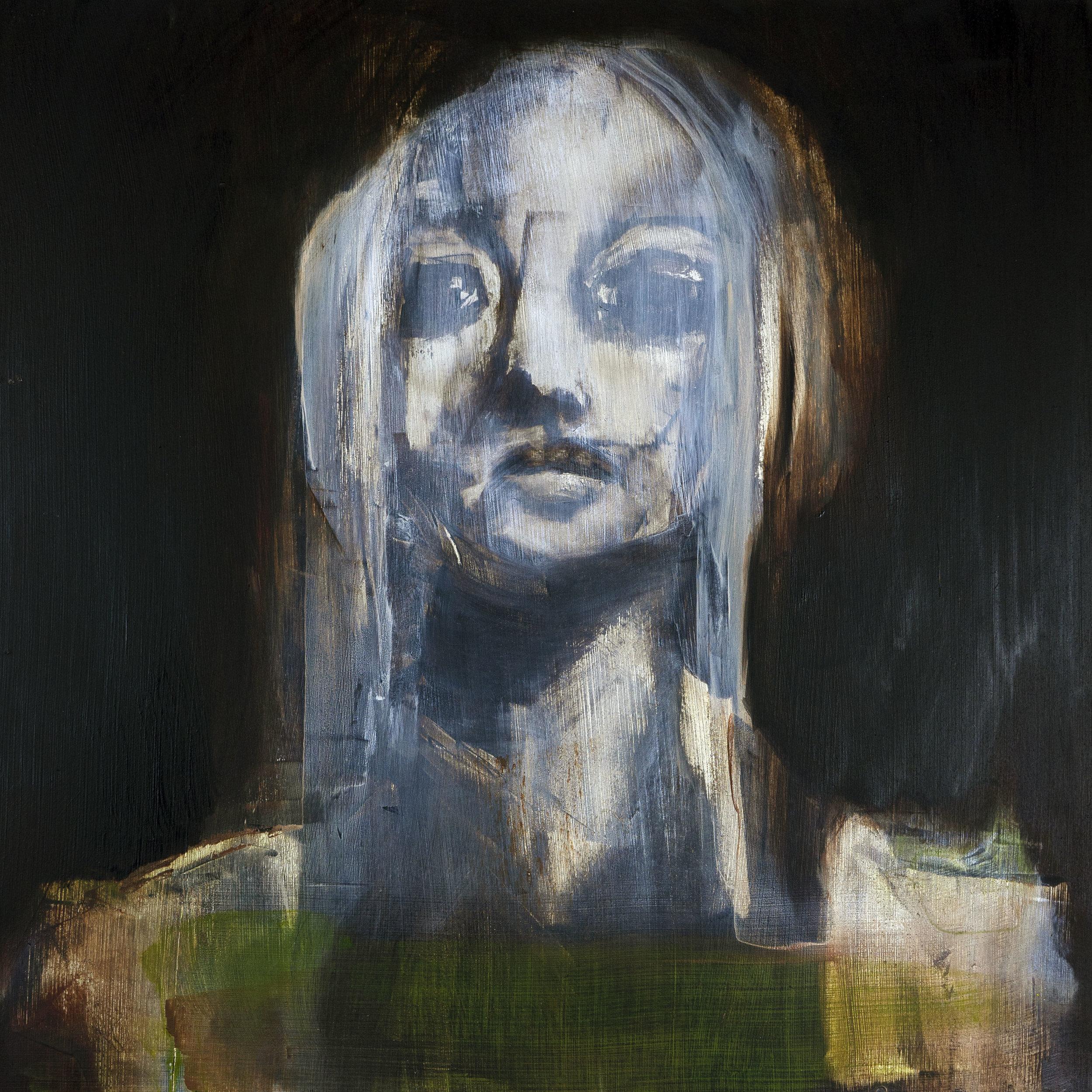 "Untitled 16""x 16"" oil"