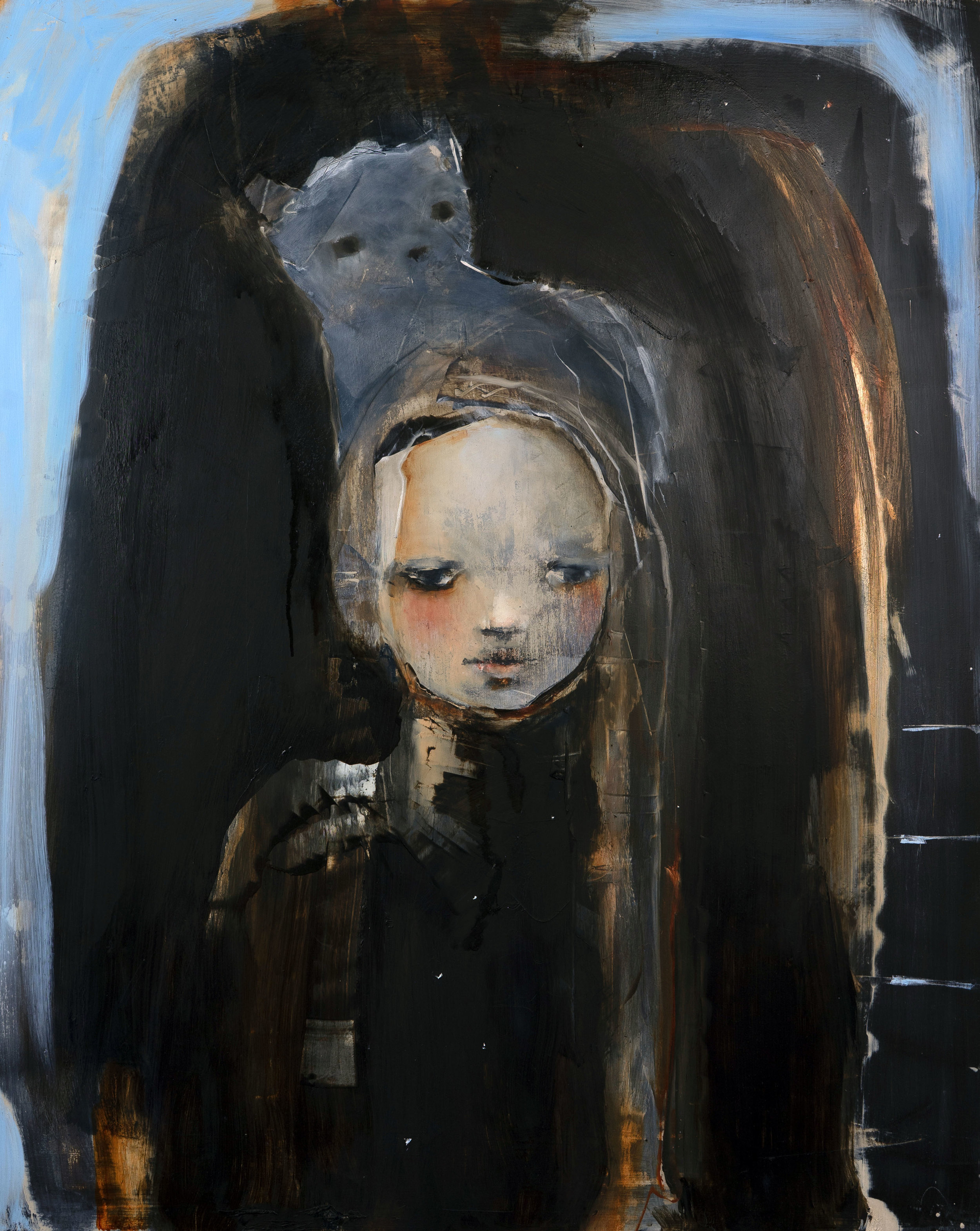 "Untitled 24""x 30"" oil"