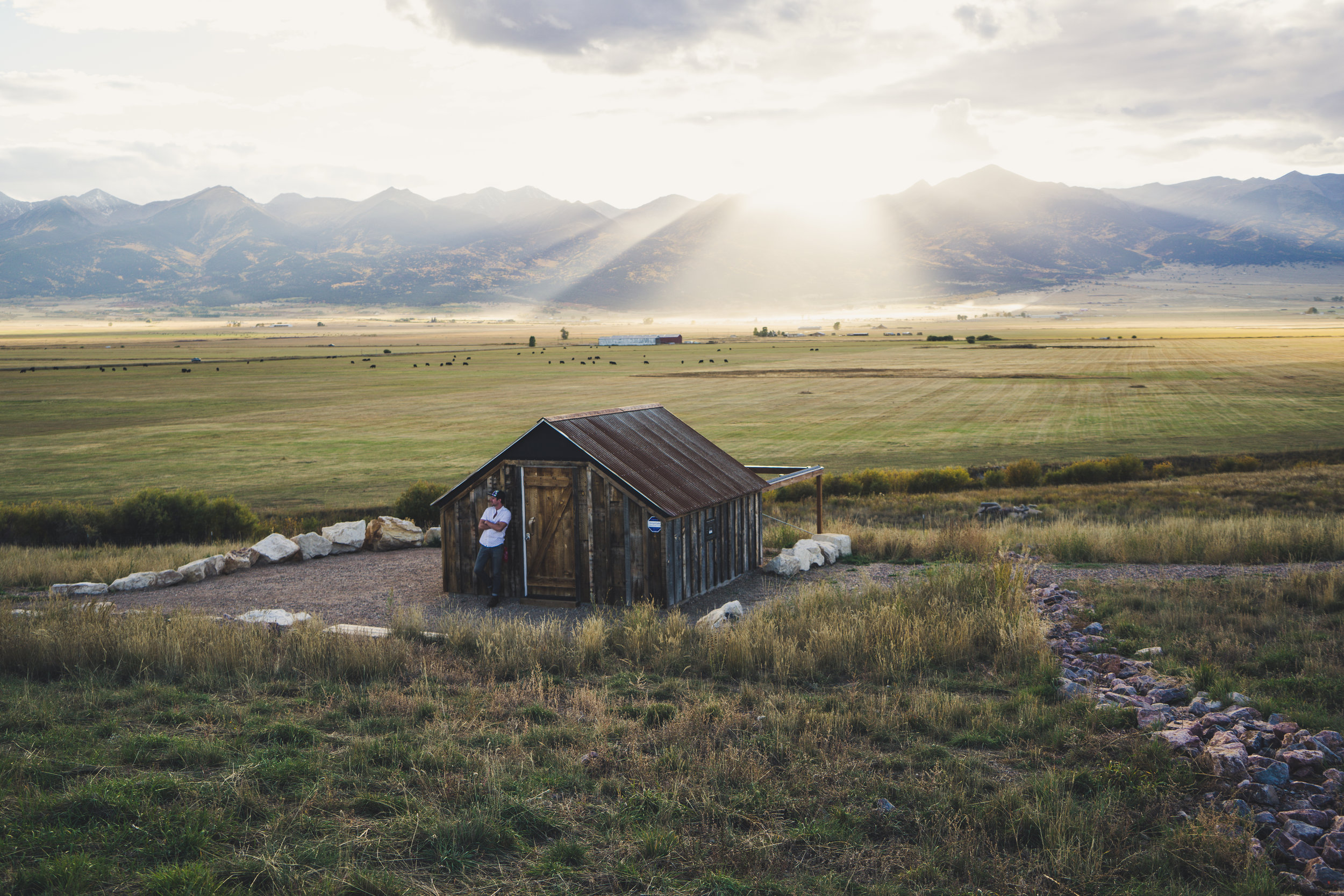 The nondescript Smokey Jack Observatory on the outskirts of Westcliffe, CO