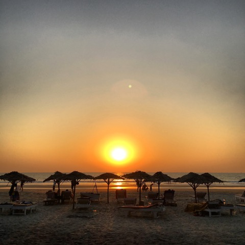 Ashvem Beach, Goa