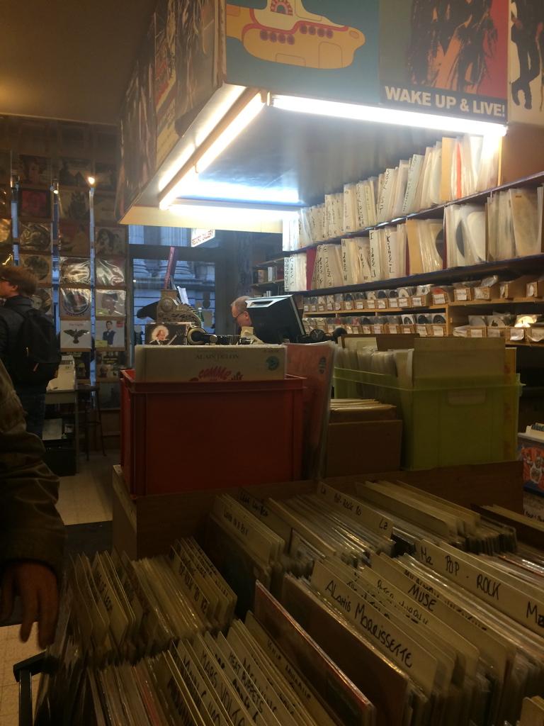 Vinyl heaven!