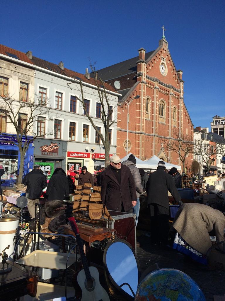 Brussels flea market - Place du Jeu de Balle
