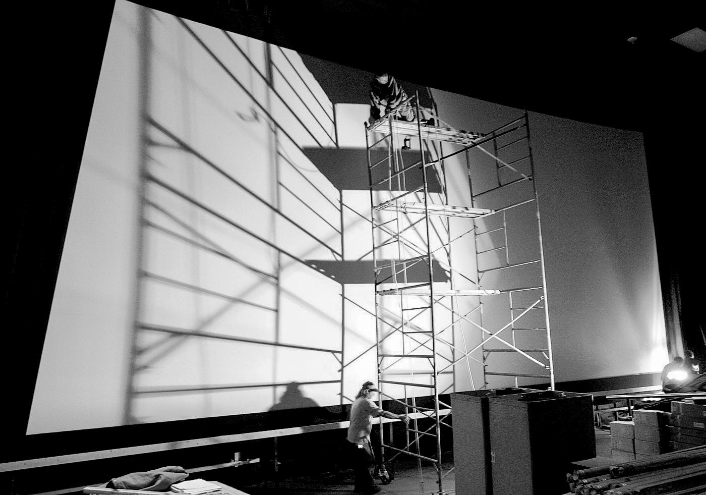 Movie theater construction