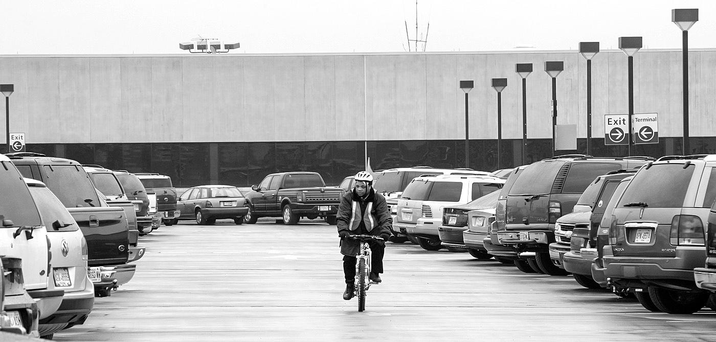 Hartsfield Jackson International Airport parking lot