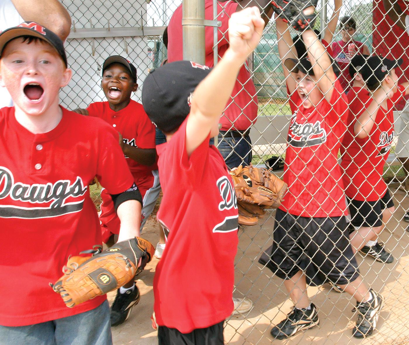Little League baseball team