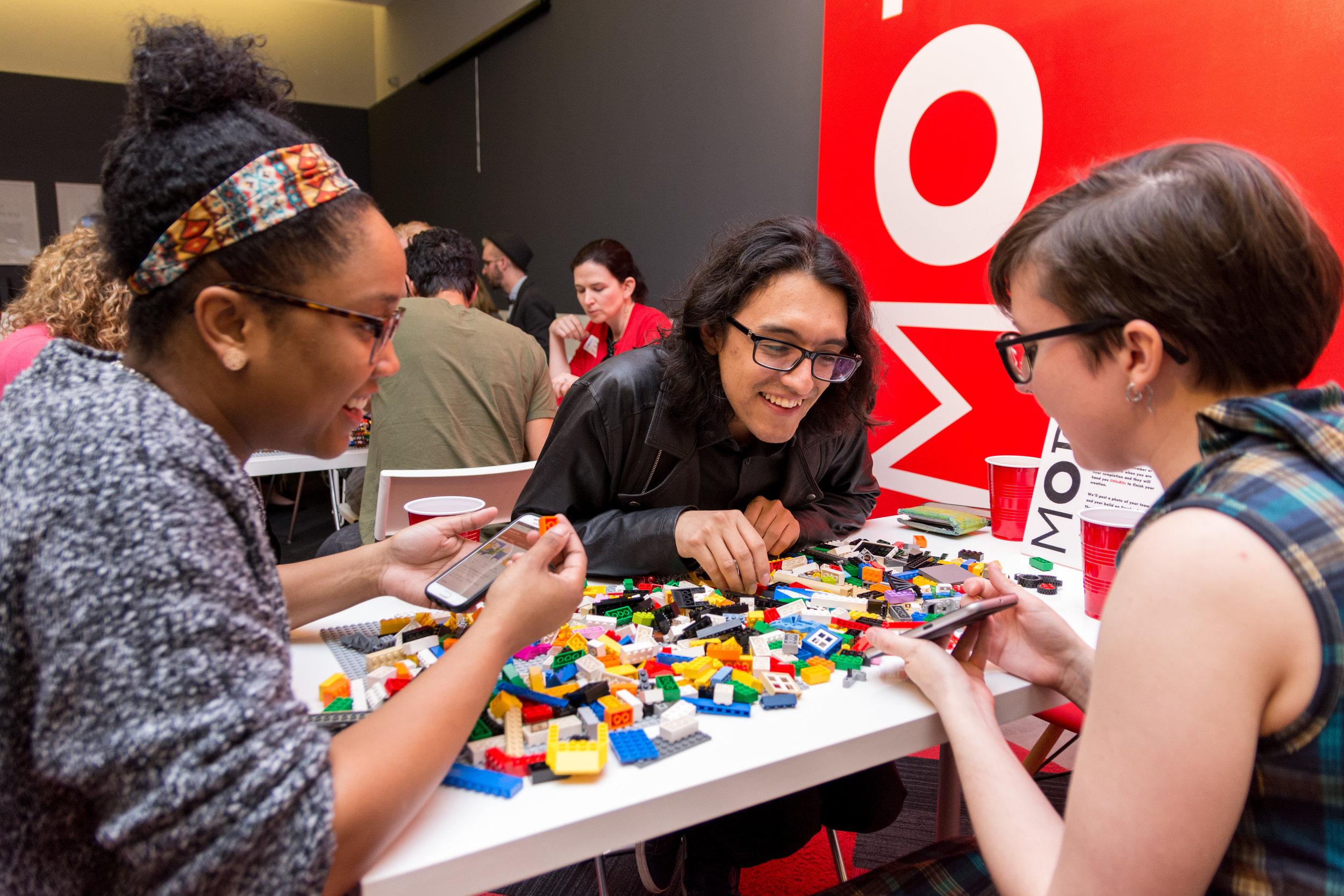 Museu of Design Atlanta LEGO event