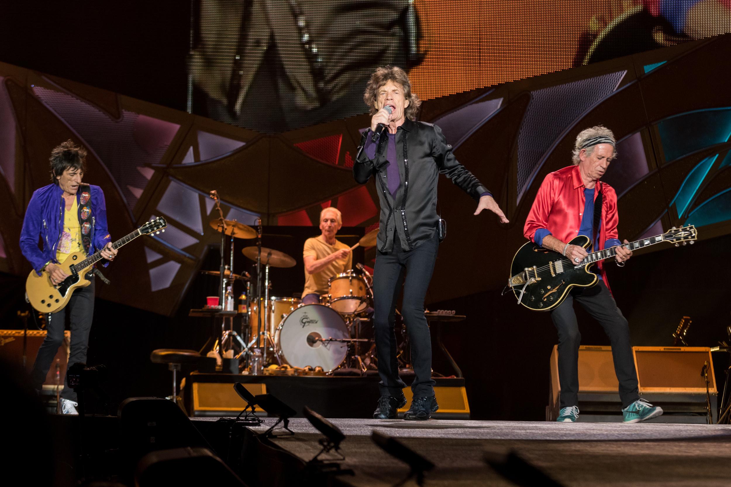 Rolling Stones in Atlanta at Georgia Tech Bobby Dodd Stadium
