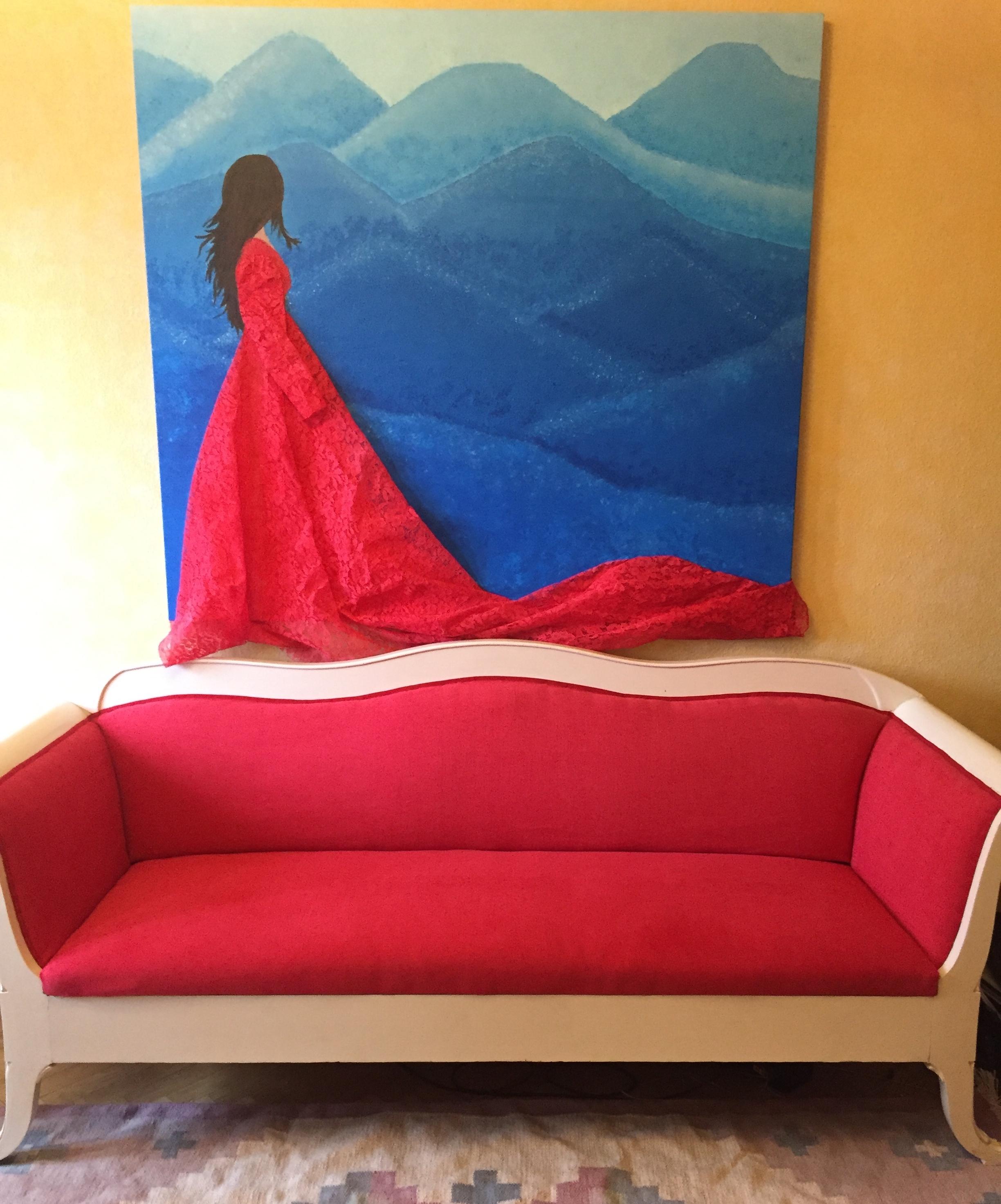 Beyond Blue och den ärvda soffan.