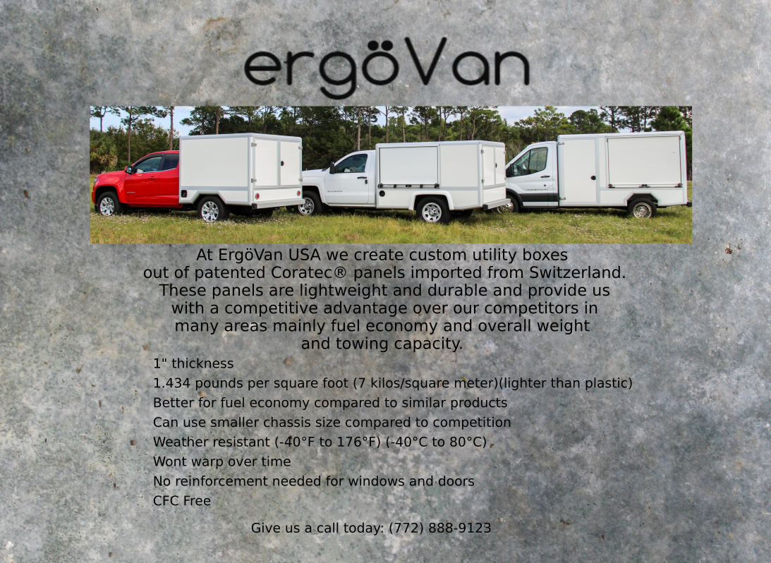 Click the link Below to check out ergoVan!