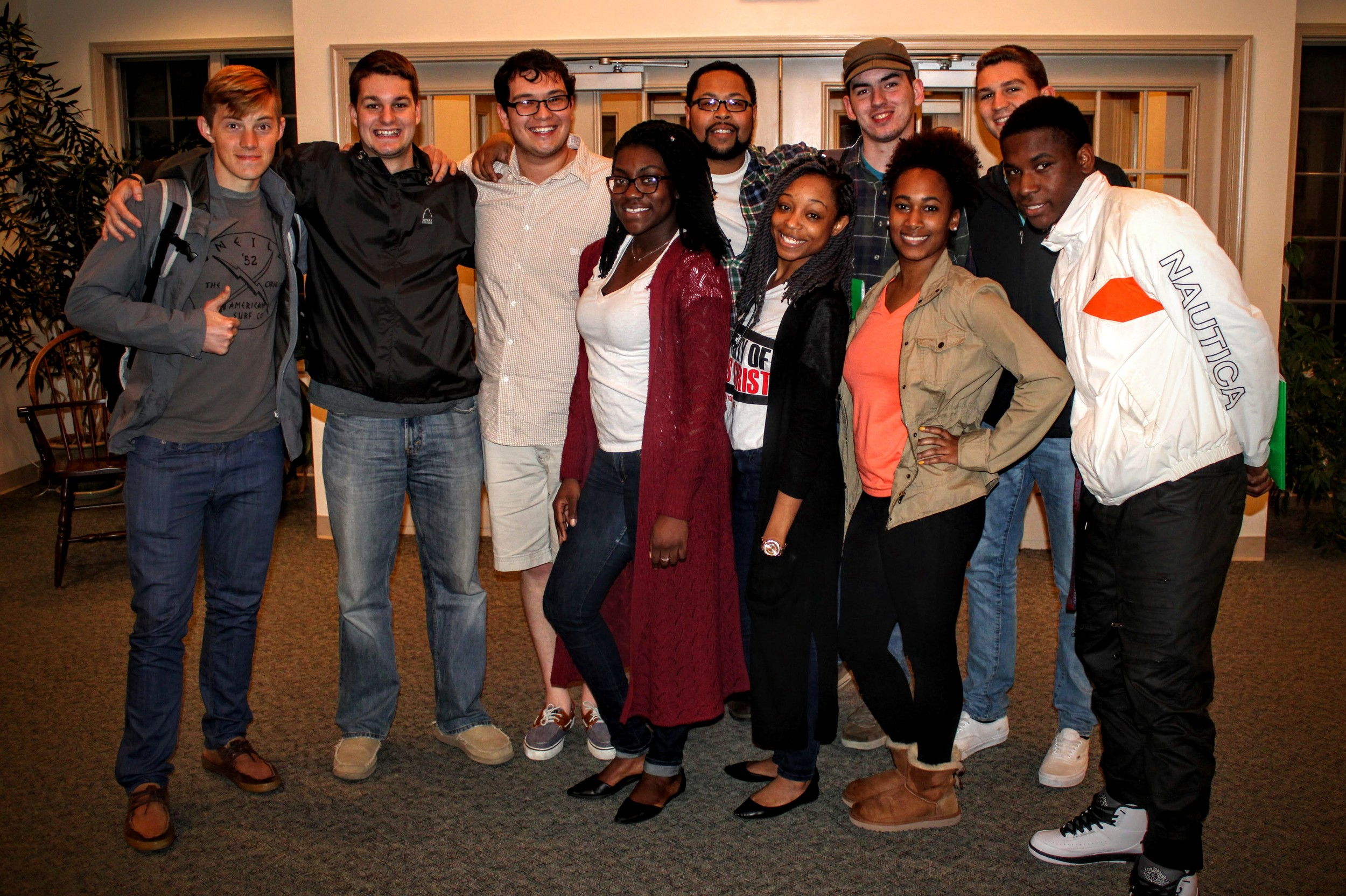 The Dover group spent 2 days in Lehigh learning how to study the Bible and enjoying fellowship.