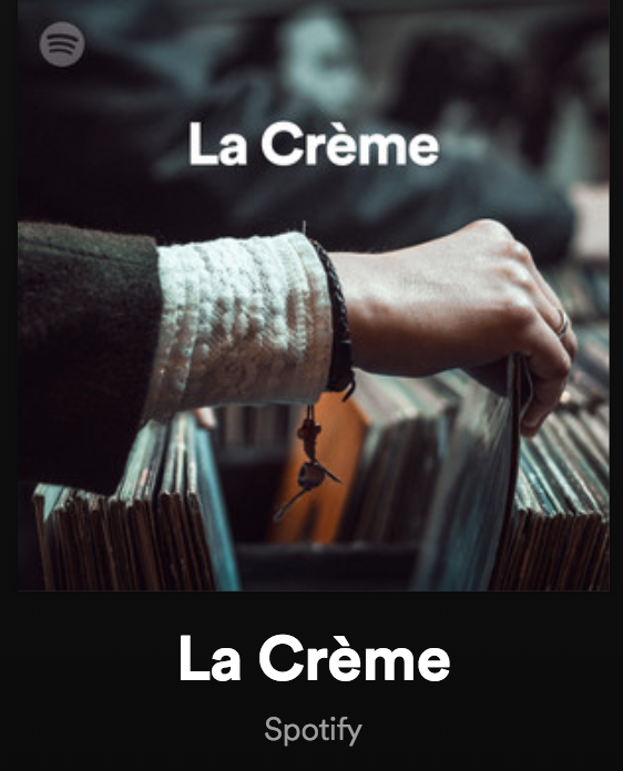 ANNE MARIE ADDED TO LA CREME PLAYLIST -